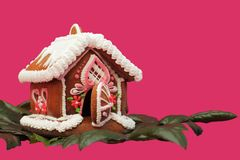 Christmas gingerbread house Royalty Free Stock Photography
