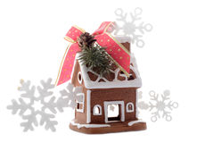 Christmas gingerbread house Stock Photo