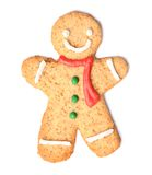 Christmas gingerbread man cookie Royalty Free Stock Photos