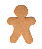 Christmas gingerbread man Royalty Free Stock Photo