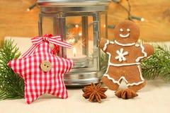 Christmas gingerbread man Royalty Free Stock Photos