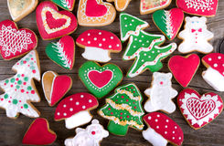 Christmas gingerbread Royalty Free Stock Photo