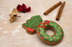 Christmas gingerbread Stock Photography