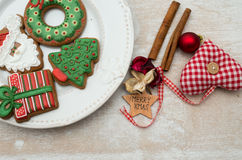 Christmas gingerbread Royalty Free Stock Image