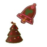 Christmas gingerbread Royalty Free Stock Images