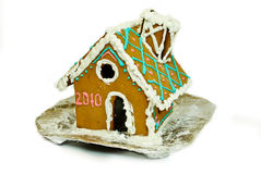 Christmas gingerbread small house Stock Image