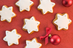 Christmas Gingerbread Stars Royalty Free Stock Photo