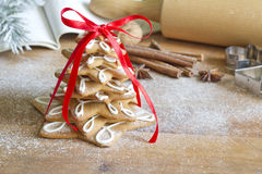 Christmas gingerbread tree Royalty Free Stock Photos