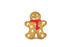 Christmas gingerbread on white background Stock Photo