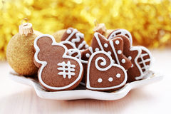 Free Christmas Gingerbreads Royalty Free Stock Photo - 16823205