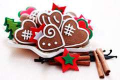 Christmas gingerbreads Royalty Free Stock Images