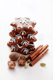 Christmas gingerbreads Royalty Free Stock Photos