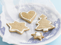 Christmas Gingerbreads Royalty Free Stock Photography