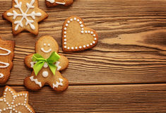 Free Christmas Gingerbreads Stock Photo - 46198020