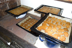 Christmas gingerbreads Stock Photo