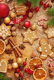 Christmas gingerbreads Royalty Free Stock Photo