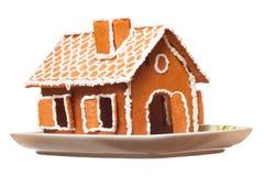 Christmas gingernut house Stock Photos