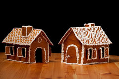 Christmas gingernut house Stock Photography