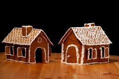 Christmas gingernut house Stock Photography