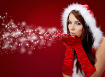 Free Christmas Girl Royalty Free Stock Photography - 12145127