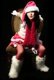 Christmas Girl royalty free stock photo