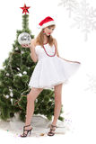 Christmas girl. Stock Photography