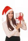 Christmas girl Royalty Free Stock Photos