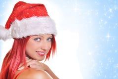 Free Christmas Girl Royalty Free Stock Image - 33671446