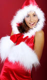 Christmas girl Stock Photo