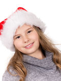 Christmas Girl Portrait. Stock Image