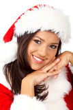 Christmas girl portrait Stock Photo