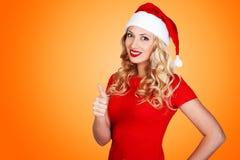 Christmas girl, winter concept Royalty Free Stock Photo