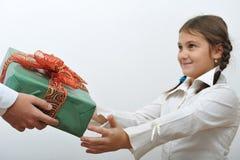 Christmas giving Stock Image