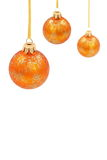 Christmas glass bal Stock Images