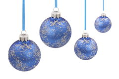 Christmas glass bal Stock Photos