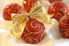 Christmas Glass Ball Royalty Free Stock Images