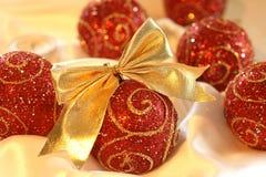 Christmas glass ball Stock Image