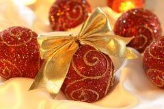 Christmas Glass Ball Stock Photography