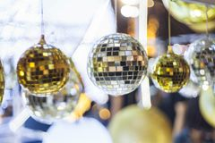 Christmas glass ball Royalty Free Stock Images