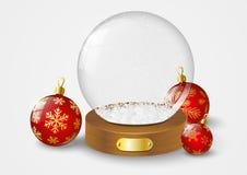 Christmas glass ball Royalty Free Stock Photography