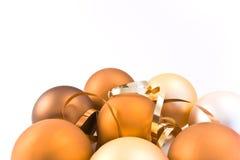 Christmas glass balls Stock Images