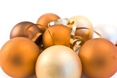 Christmas glass balls Royalty Free Stock Image