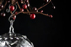 Christmas Glass Ornament Royalty Free Stock Images
