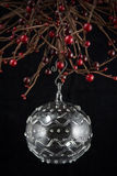 Christmas Glass Ornament Stock Photo