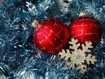 Christmas glass sphere Stock Image