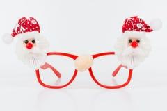 Christmas glasses Royalty Free Stock Image