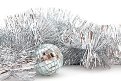 Christmas glassy ball Royalty Free Stock Photography