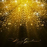Christmas glitter background Royalty Free Stock Photography
