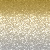Christmas glitter background. Christmas background of gold glitter effect Stock Images