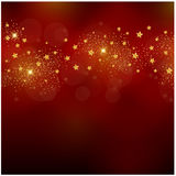 Christmas glitter background Royalty Free Stock Photos